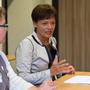 Schulleiterin Jutta Tschakert, Staatsministerin Lucia Puttrich