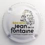 Marque : FAY Michel N° Lambert : A12 Couleur : Blanc Description : 400 ans Jean de la Fontaine - nom de la marque Emplacement :