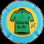 Marque : ROUYER Philippe N° Lambert : 95b Couleur : Polychrome,  Description : Maillot vert Vuelta 2020  - nom de la marque sur le contour  Emplacement :