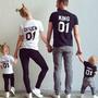 Именные футболки для всей семьи на заказ