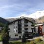 balkon met panorama uitzicht naar zuiden, appartement 4, Ferienhaus-Apartment Golf Saas-Fee