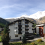 балко́н на ю́г, панора́ма, aпартаменты 4, Ferienhaus-Apartment Golf Saas-Fee