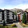 balkon met panorama uitzicht naar zuiden, appartement 5, Ferienhaus-Apartment Golf Saas-Fee