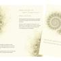 Flyer für spirituelle Körperbehandlungen