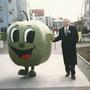 """Großmaskottchen """"Apfel"""" für Lebensmitteldiscounter"""
