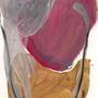 peinture acrylique sur papier, 15 x10 cm.
