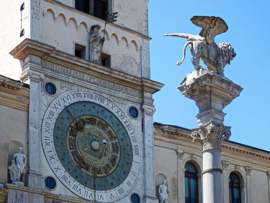 Uhr in Padua, 2014