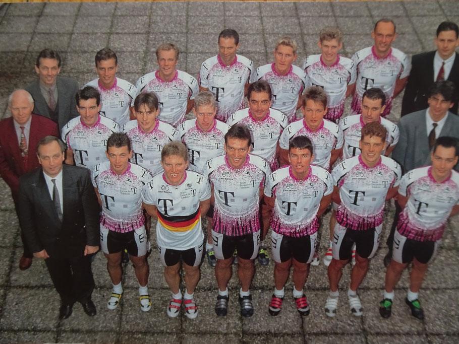 Das neue Team 1995