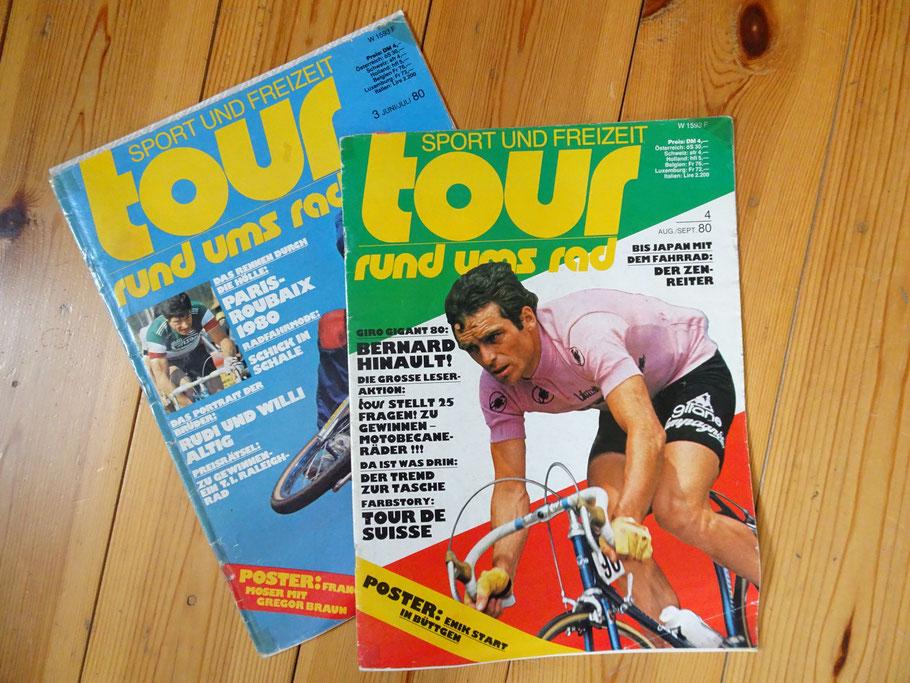 Die ersten beiden Ausgaben der Tour, die ich mir kaufte