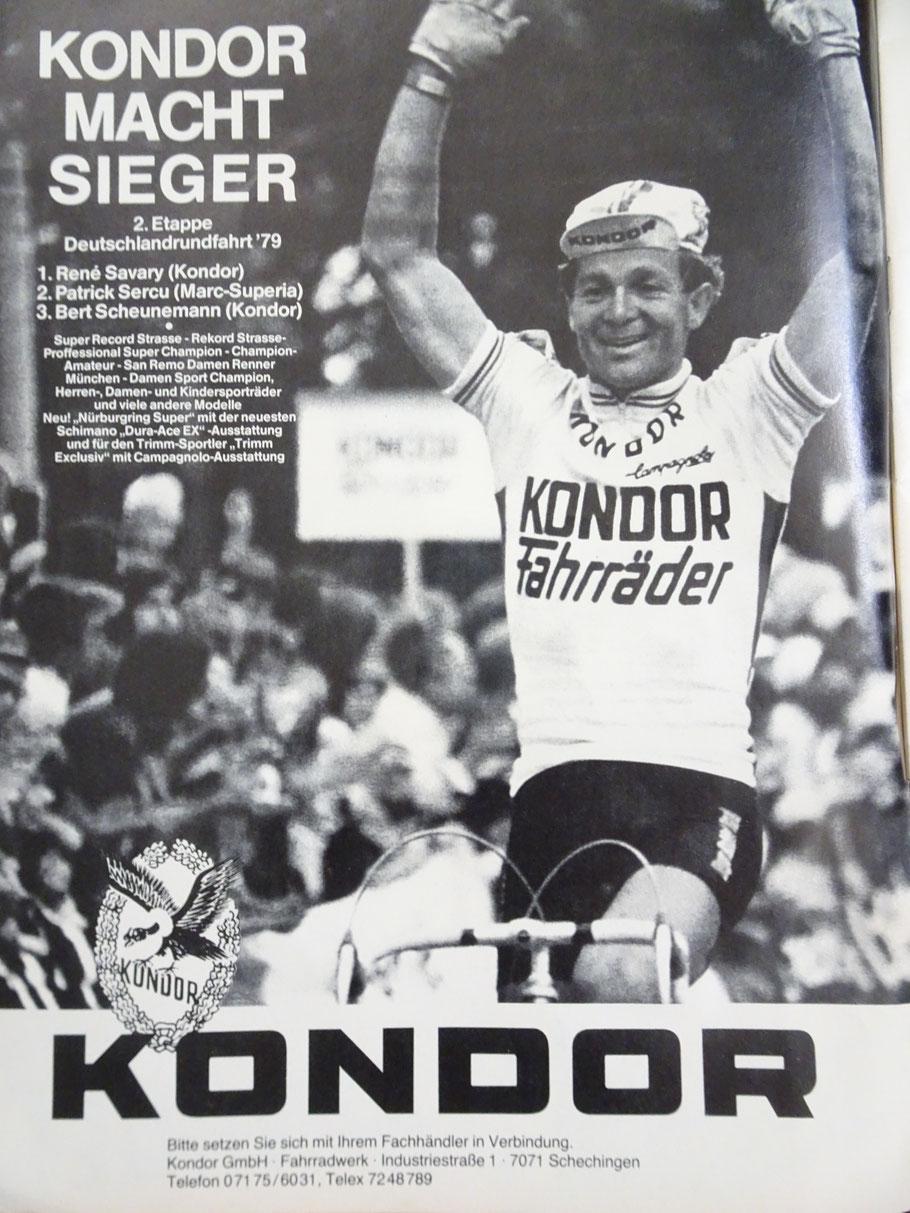 Werbung aus 1979