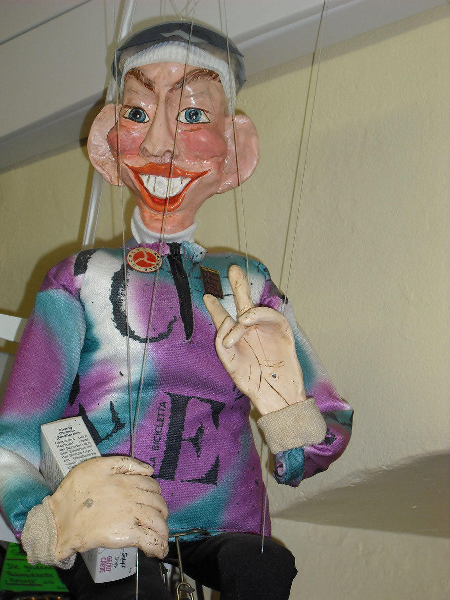 """""""Ich"""" - als Marionette :-)"""