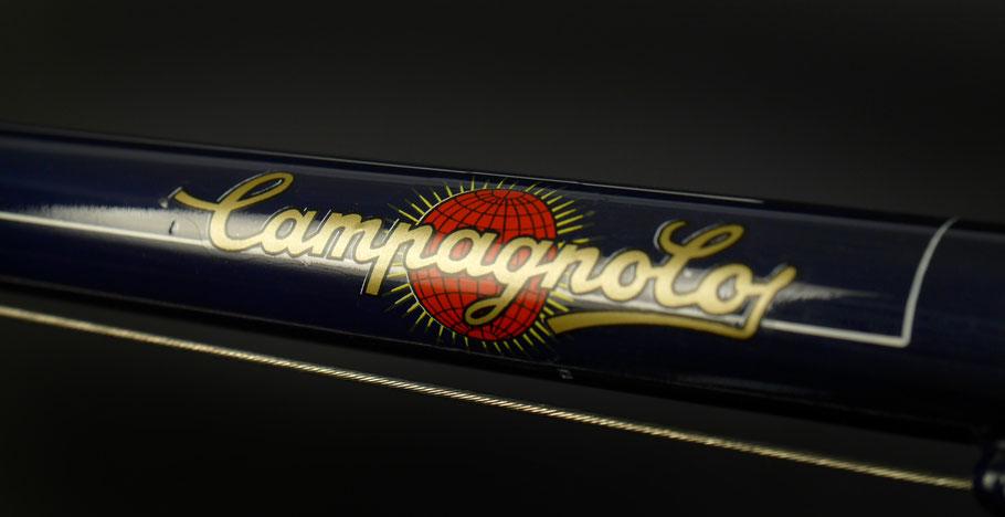 Campagnolo stellt die Schaltung und die Naben - Gran Sport aus Anfang der 1950er