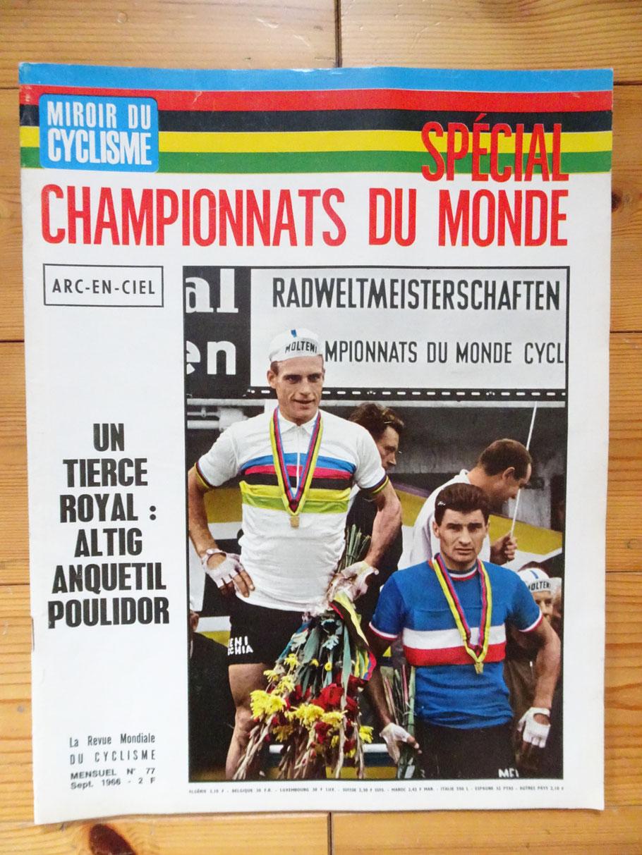 Sonderausgabe des Miroir du cyclisme zur Straßen-WM 1966