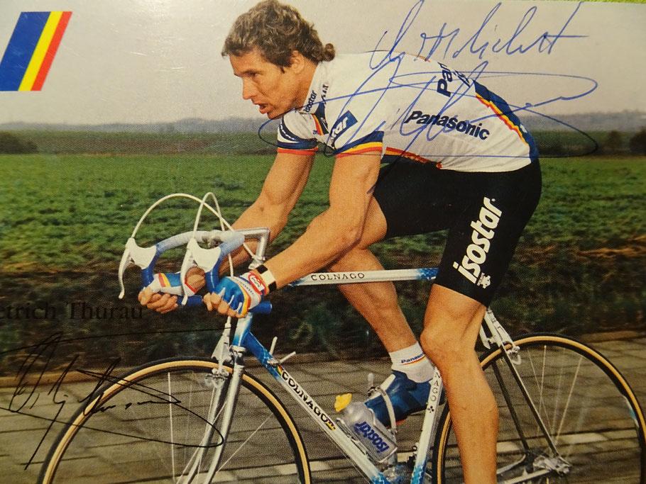 Bei Panasonic fuhr Didi im Herbst seiner Karriere 1988