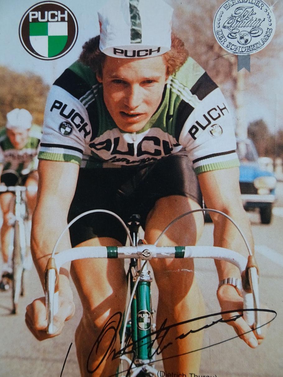 Im Puch-Team unter Rudi Altig, fuhr Didi im Jahre 1980