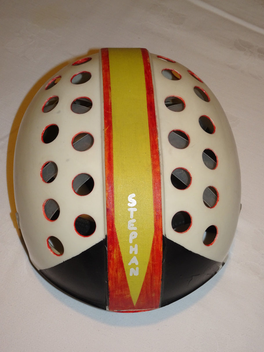 Diesen Helm  trug ich in der Saison 1983