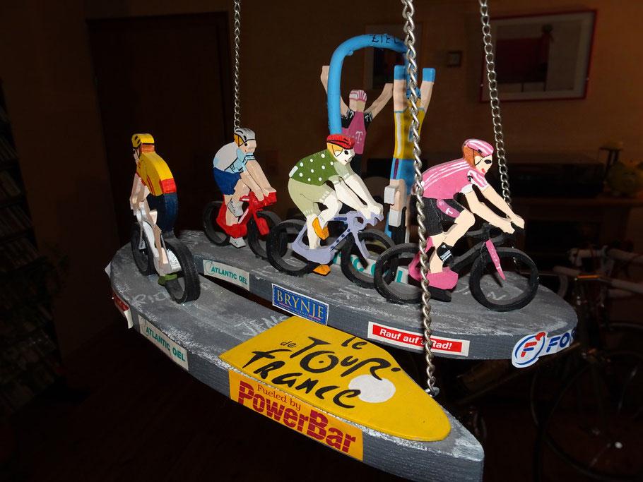 Szenen einer Tour de France Etappe, wie man sie gerne gesehen hätte .......