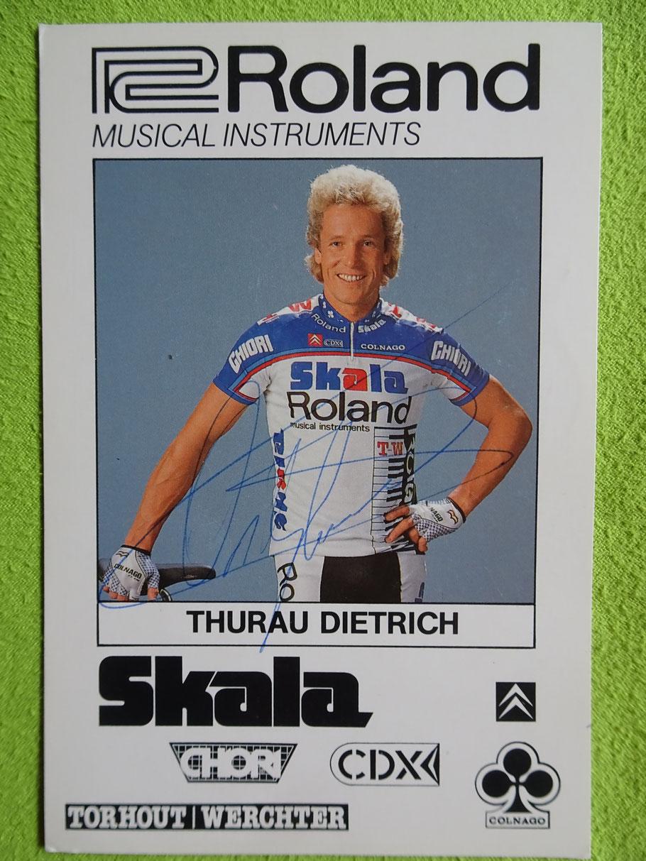 1987 machte Didi Musik bei Roland-Skala