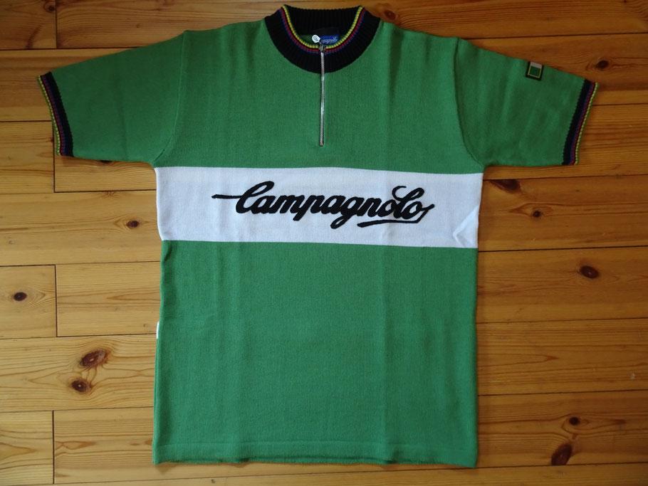Campagnolo in grün - passt bestimmt super zum Legnano-Rad