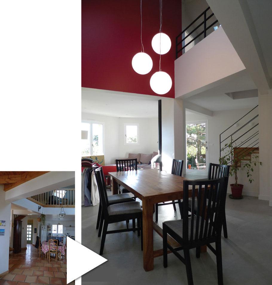 architecte rénovation maison Biviers Grésivaudan