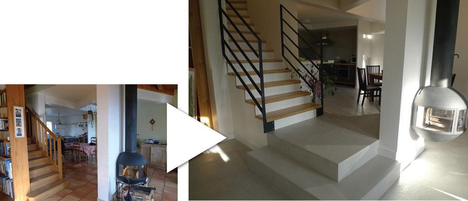 architecte rénovation maison individuelle Biviers près de Grenoble
