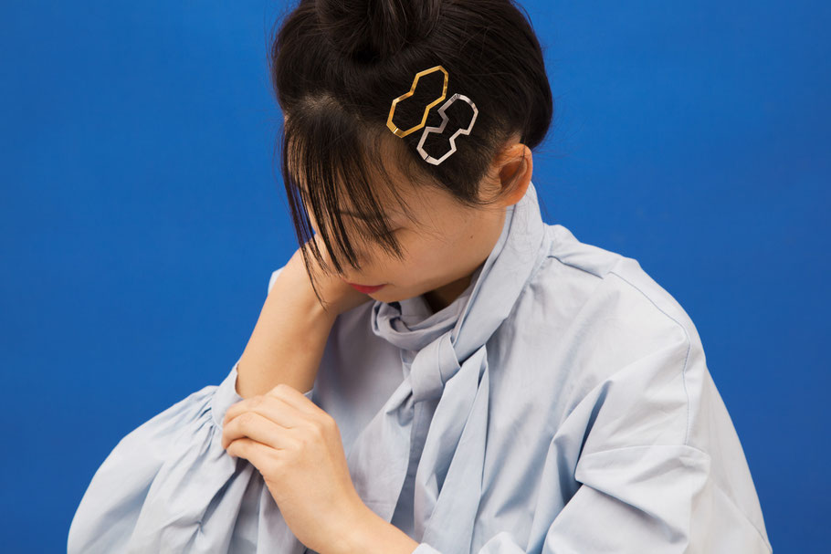 CLINQ Edition #01: BIA; MARIE; contemporary hair jewelry; hair clips