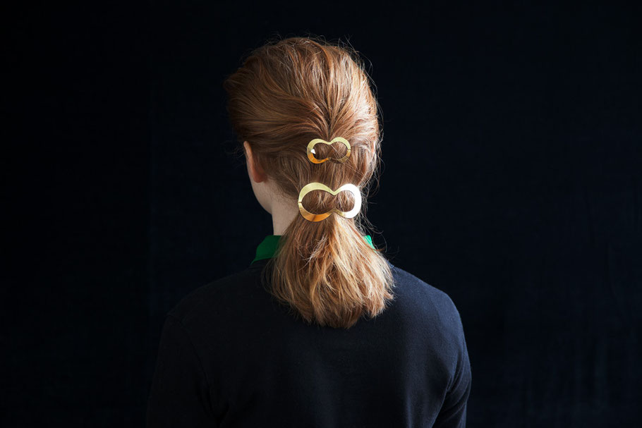 CLINQ Edition #01: LINA; CLIO; contemporary hair jewelry; hair clips