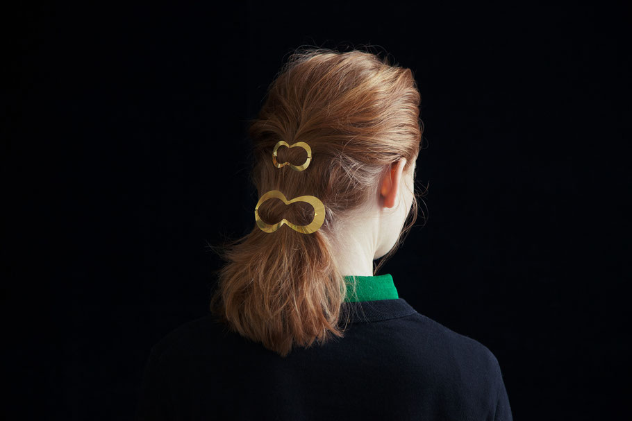 CLINQ Edition #01: CLIO; contemporary hair jewelry; hair clips