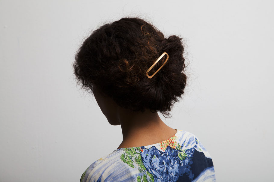 CLINQ Edition #03: ADA; contemporary hair jewelry; hair clips; barrettes