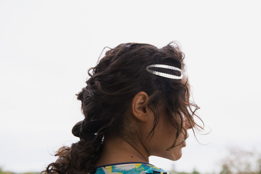 CLINQ Edition #08: OPAL; contemporary hair jewelry; hair clips; barrettes