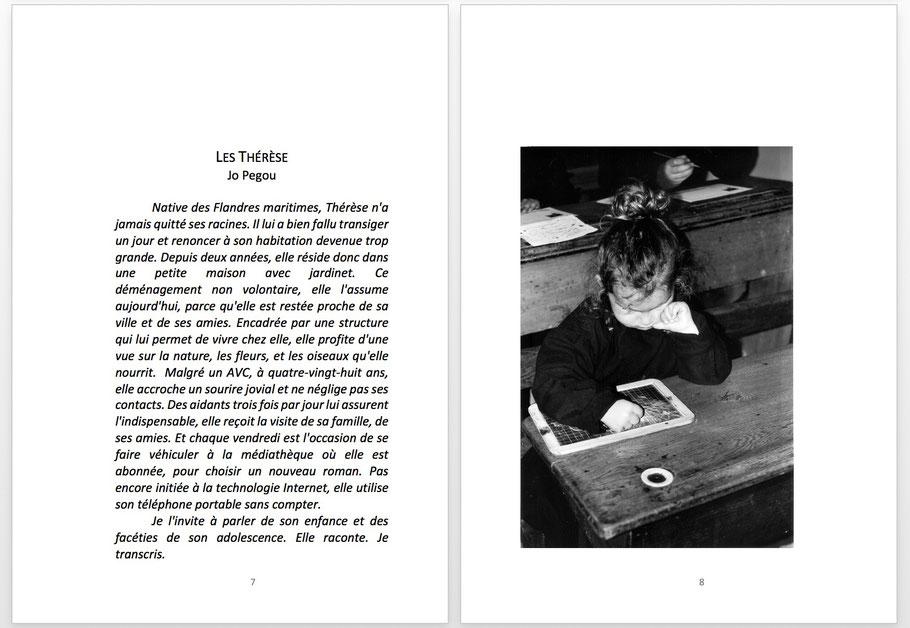 LES THÉRÈSE, de Jo Pegou (introduction)