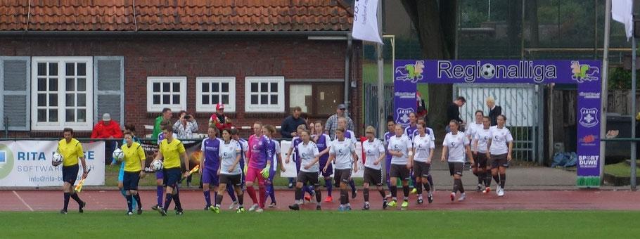 Endlich: Durch das Einlauftor in die Regionalliga