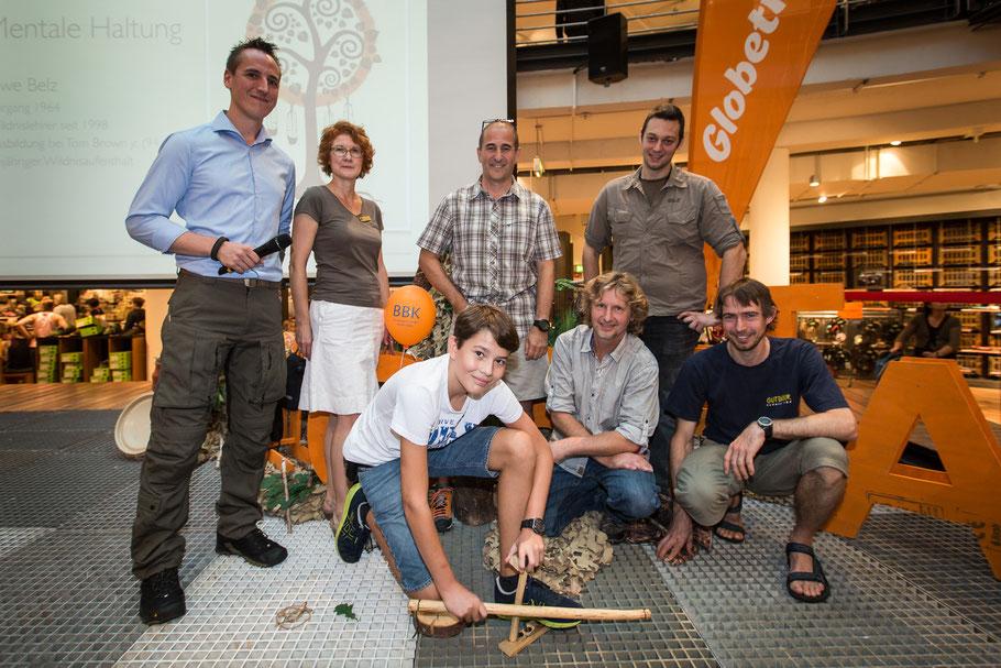 Gruppenfoto GlobeTag Überleben Globetrotter-Thementag in Köln 2015