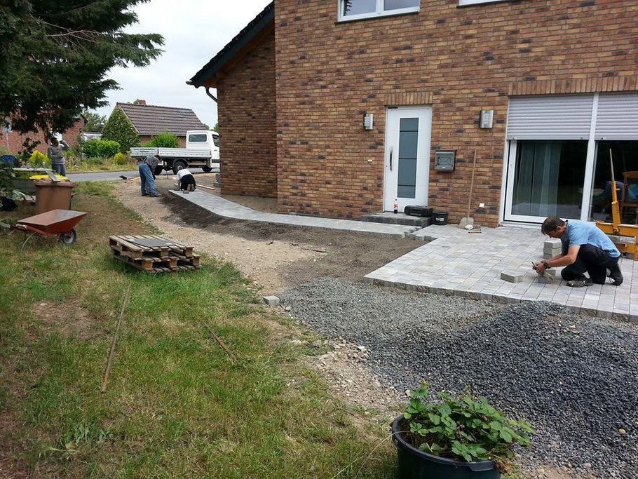 Terrasse Dk Galadesign Rund Um Haus Garten