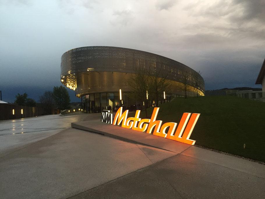 Eröffnung KTM-Motohall am 09.05.2019