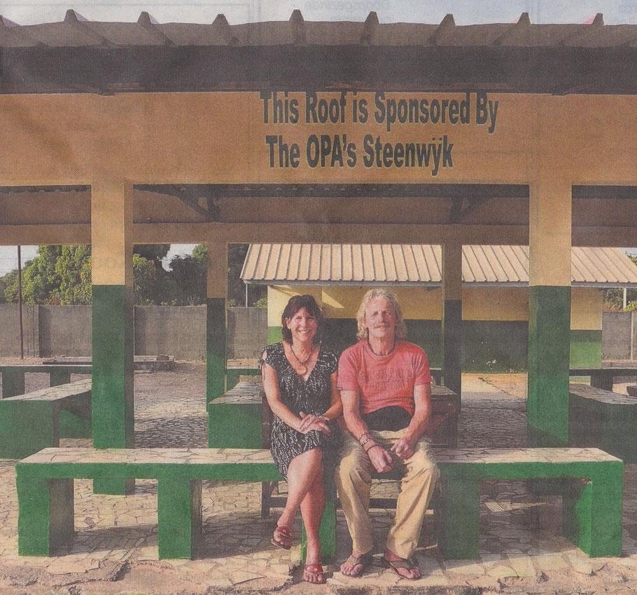 Gezondheidscentrum in Gambia is blij met O.P.A.