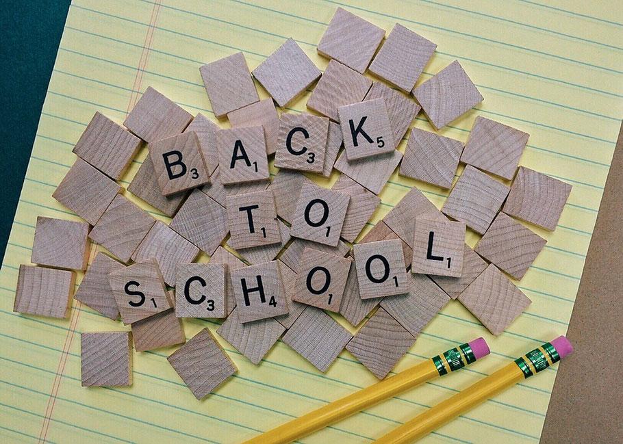 A fresh start:  Back to School