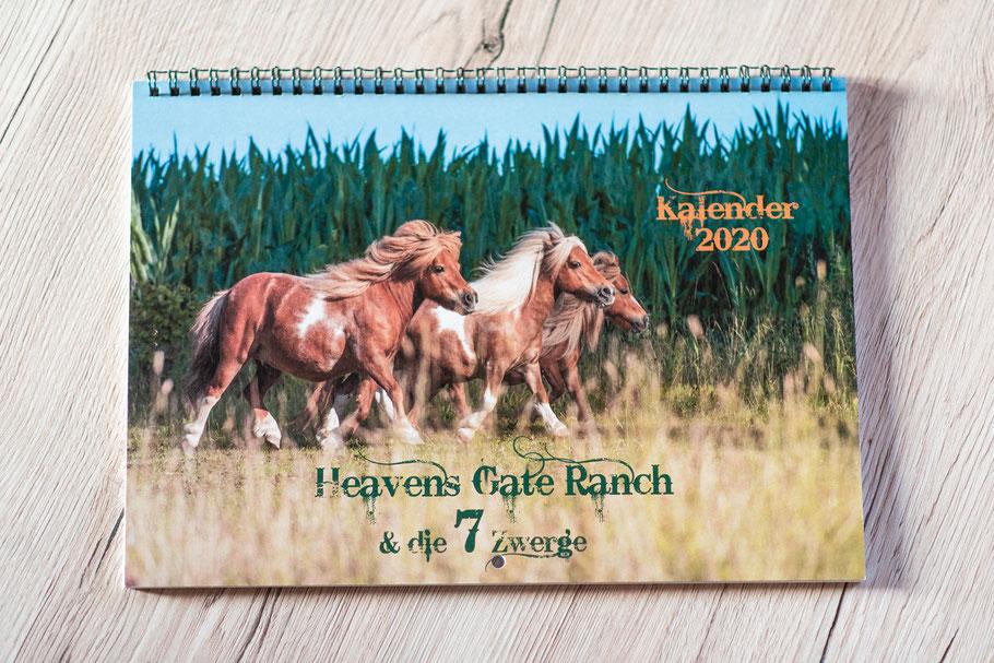 Heaven´s Gate Ranch; Shetlandpony; Shetty; Minipony; Pferdekalender;