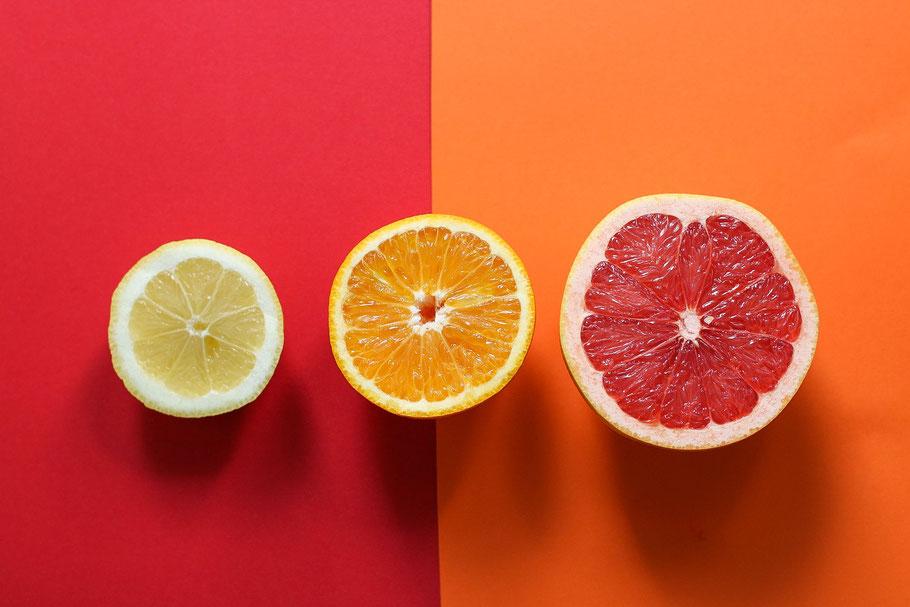 Aromatherapie mit Zitrone, Orange und Grapefruit für Familien - mit love & science von aetherio.de