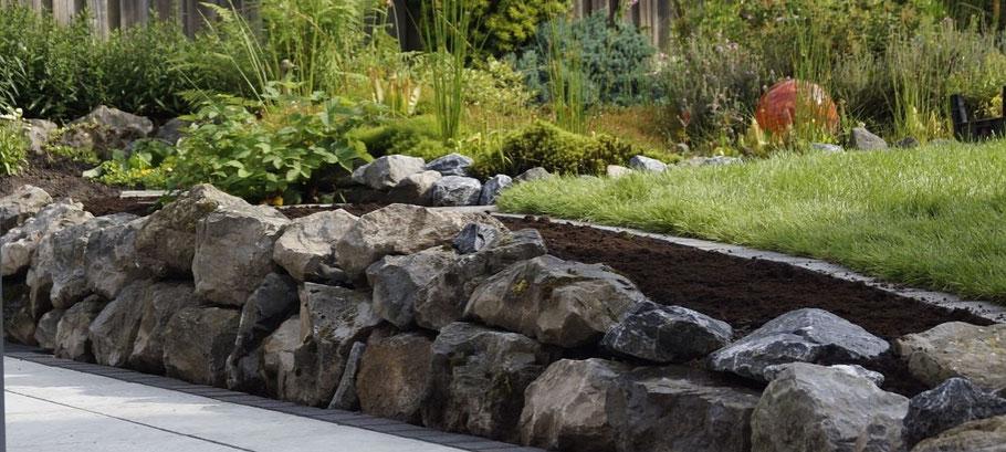Steine und Mauern - Garten- und Landschaftsbau vom Feinsten