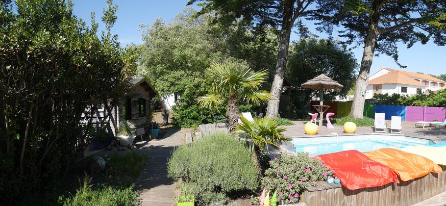 Terrasse Piscine et Jardin