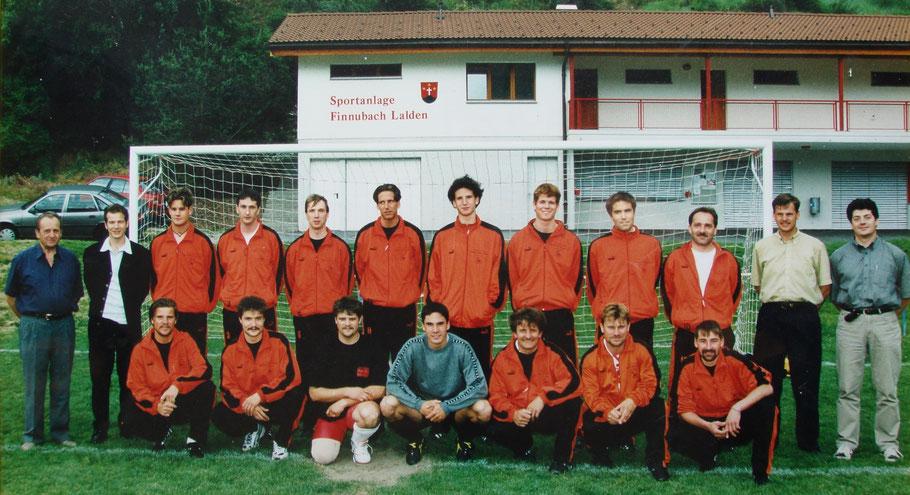 2. Mannschaft 1999/2000