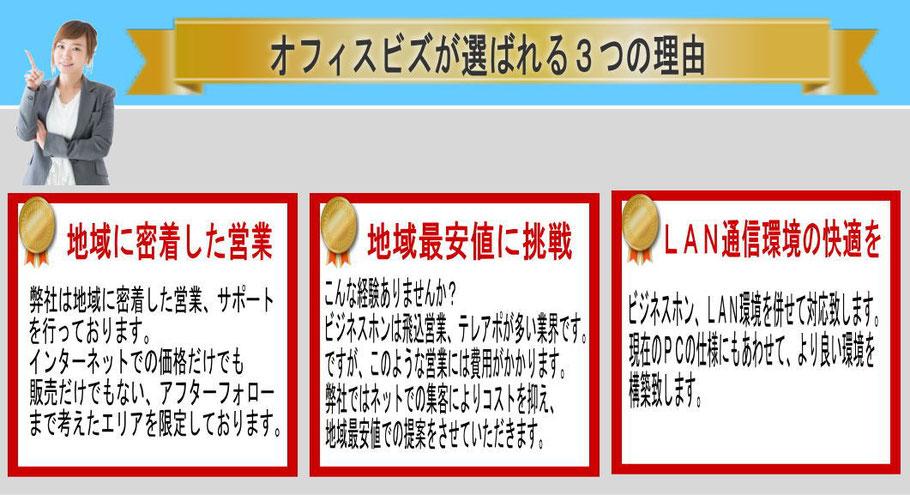 浜松で安いビジネスホン、中古ビジネスホン、選ばれる理由