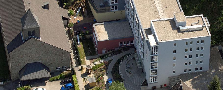 Luftbild Gruppenräume