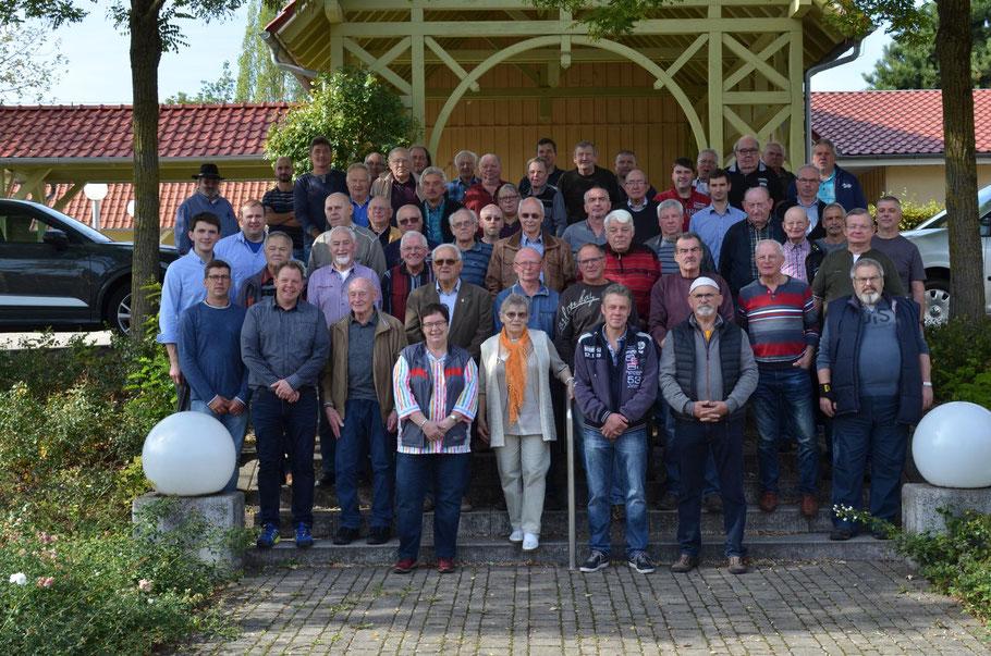 Dies ist unser aktuelles Gruppenbild von der Herbstversammlung 2018 in Wiegleben.