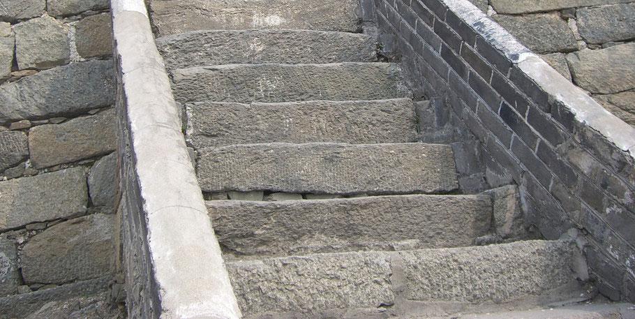 Der Weg ist das Ziel in China und manchmal etwas steinig