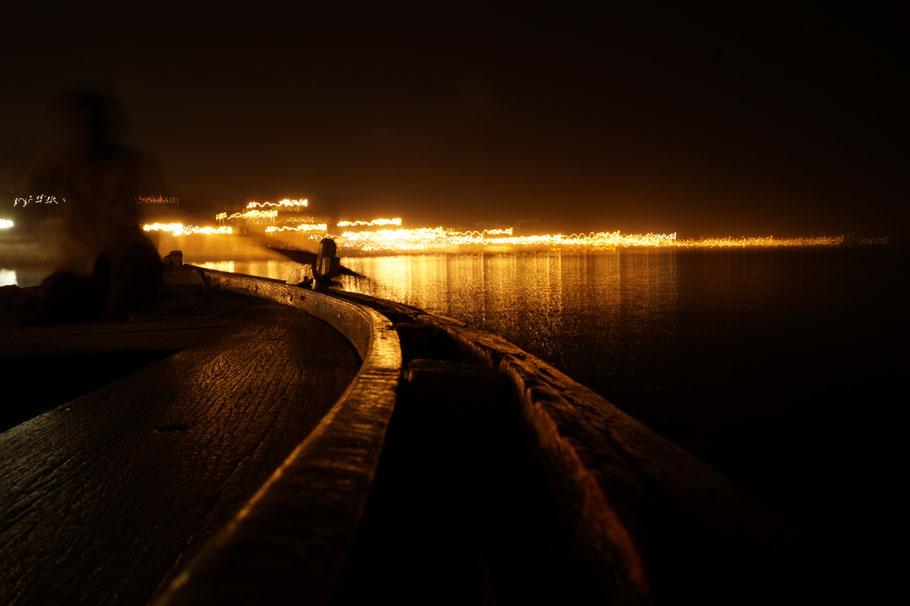Varanasi - Gange & lumières de la nuit