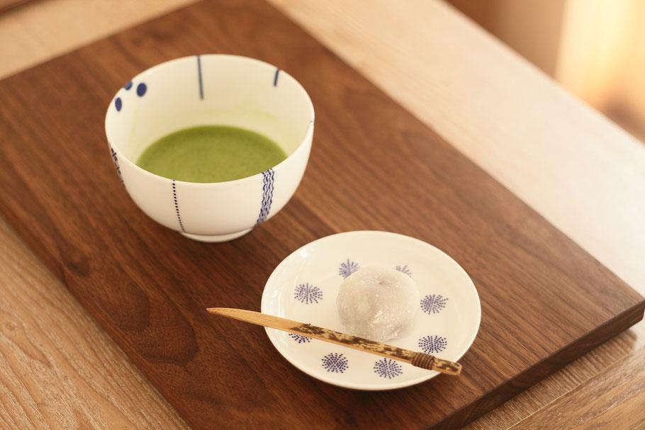 東屋印判撰集花茶碗/茶菓子