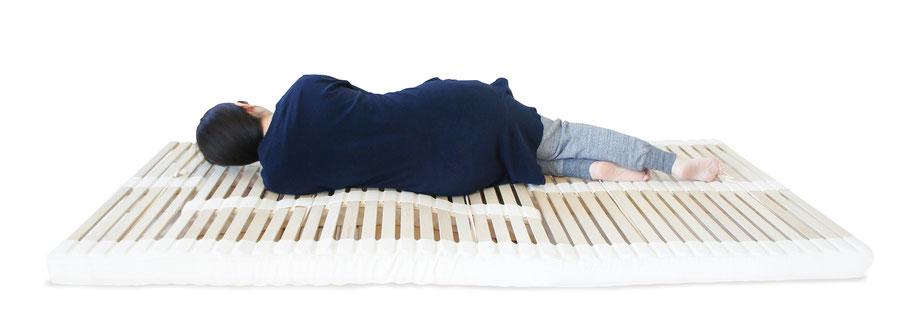 新潟眠家_ウッドスプリングマットレス寝心地