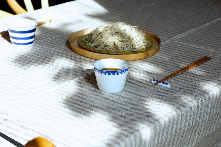 東屋印判撰集蕎麦猪口/小嶋屋蕎麦
